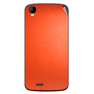 Snooky 43442 Mobile Skin Sticker For Intex Aqua Speed - Orange