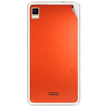 Snooky 43454 Mobile Skin Sticker For Intex Aqua Star 5.0 - Orange