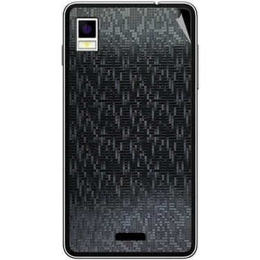 Snooky 43488 Mobile Skin Sticker For Intex Aqua Style - Black