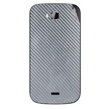 Snooky 43542 Mobile Skin Sticker For Intex Aqua Wonder - silver