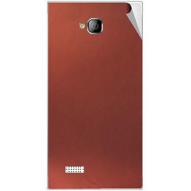 Snooky 43547 Mobile Skin Sticker For Intex Aqua Y2 - Copper
