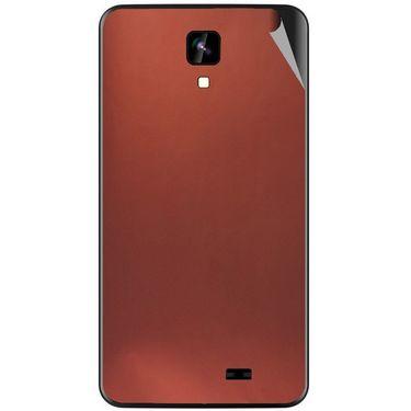 Snooky 43559 Mobile Skin Sticker For Intex Aqua Y2 Ips - Copper