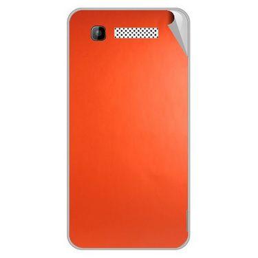 Snooky 43586 Mobile Skin Sticker For Intex Cloud Y11 - Orange