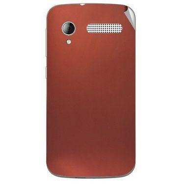 Snooky 43595 Mobile Skin Sticker For Intex Cloud Y12 - Copper