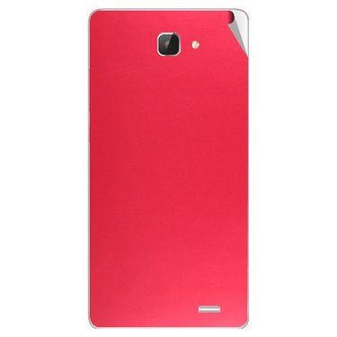 Snooky 43606 Mobile Skin Sticker For Intex Aqua I5 Hd - Red