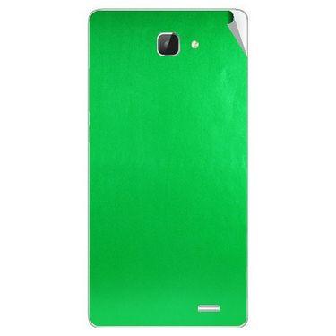 Snooky 43612 Mobile Skin Sticker For Intex Aqua I5 Hd - Green