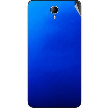 Snooky 43640 Mobile Skin Sticker For Intex Cloud M6 - Blue