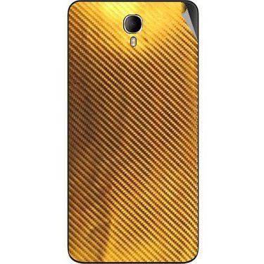 Snooky 43641 Mobile Skin Sticker For Intex Cloud M6 - Golden