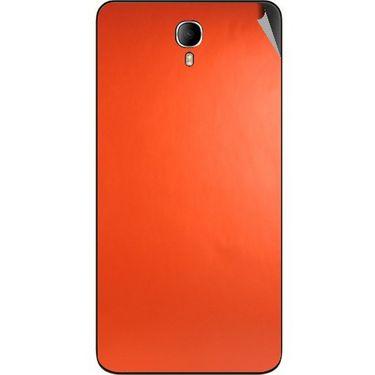 Snooky 43646 Mobile Skin Sticker For Intex Cloud M6 - Orange