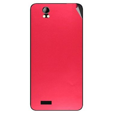 Snooky 43690 Mobile Skin Sticker For Intex Aqua Style Pro - Red