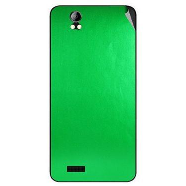 Snooky 43696 Mobile Skin Sticker For Intex Aqua Style Pro - Green