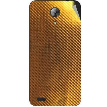 Snooky 43701 Mobile Skin Sticker For Intex Aqua Style Mini - Golden