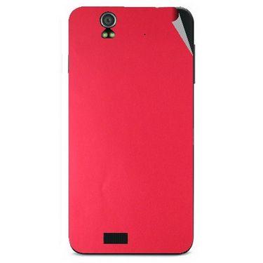 Snooky 43810 Mobile Skin Sticker For Lava Iris selfie 50 - Red