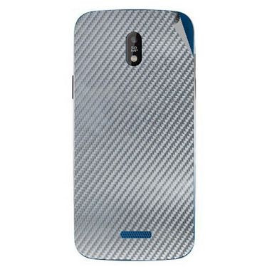 Snooky 43842 Mobile Skin Sticker For Lava Iris 450 - silver