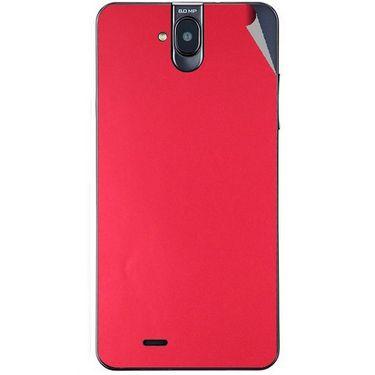 Snooky 43846 Mobile Skin Sticker For Lava Iris 550Q - Red