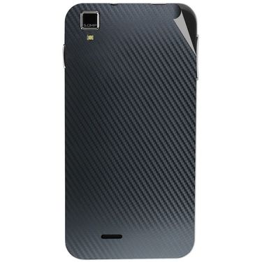 Snooky 43855 Mobile Skin Sticker For Lava Iris 405 Plus - Black