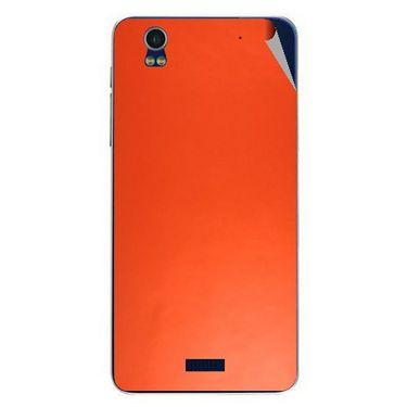 Snooky 43874 Mobile Skin Sticker For Lava Iris Pro 20 - Orange