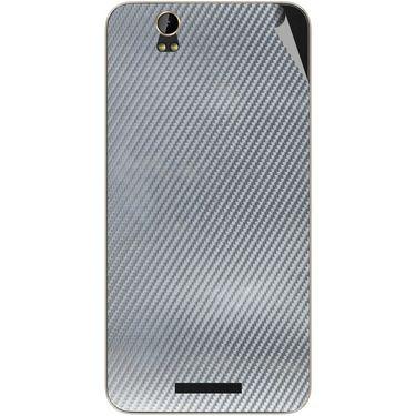 Snooky 43890 Mobile Skin Sticker For Lava Iris X1 - silver