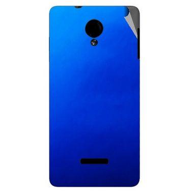 Snooky 43940 Mobile Skin Sticker For Micromax Canvas Fun A74 - Blue