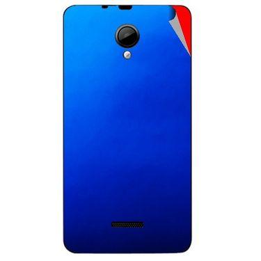 Snooky 43952 Mobile Skin Sticker For Micromax Canvas Fun A76 - Blue
