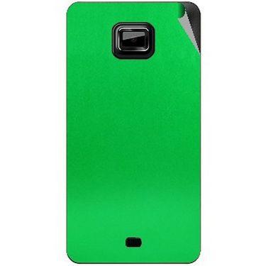 Snooky 44020 Mobile Skin Sticker For Micromax Ninja A91 - Green