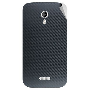 Snooky 44023 Mobile Skin Sticker For Micromax Canvas Lite A92 - Black