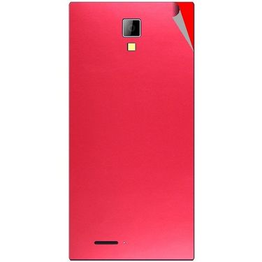 Snooky 44074 Mobile Skin Sticker For Micromax Canvas Xpress A99 - Red