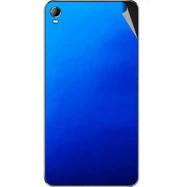 Snooky 44108 Mobile Skin Sticker For Micromax Canvas Fire2 A104 - Blue