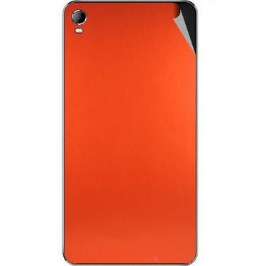 Snooky 44114 Mobile Skin Sticker For Micromax Canvas Fire2 A104 - Orange