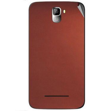 Snooky 44123 Mobile Skin Sticker For Micromax Canvas Entice A105 - Copper