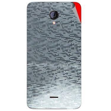 Snooky 44141 Mobile Skin Sticker For Micromax Canvas Unite 2 A106 - silver