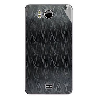 Snooky 44172 Mobile Skin Sticker For Micromax Canvas Doodle A111 - Black