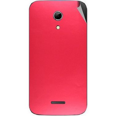 Snooky 44182 Mobile Skin Sticker For Micromax Canvas 2.2 A114 - Red