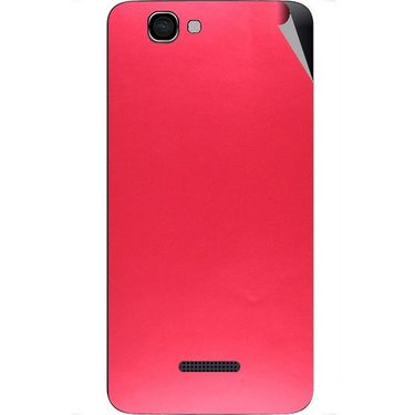 Snooky 44206 Mobile Skin Sticker For Micromax Canvas 2 A120 - Red