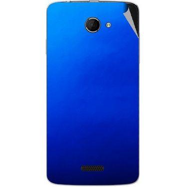 Snooky 44216 Mobile Skin Sticker For Micromax Canvas Elanza 2 A121 - Blue