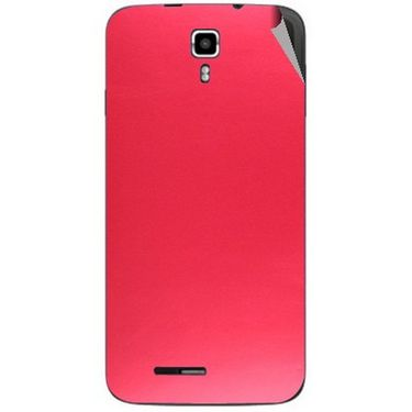 Snooky 44230 Mobile Skin Sticker For Micromax Canvas Juice A177 - Red