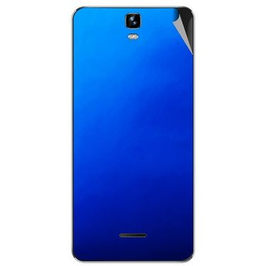 Snooky 44240 Mobile Skin Sticker For Micromax Canvas HD plus A190 - Blue