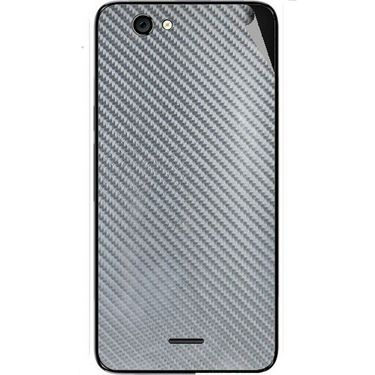 Snooky 44286 Mobile Skin Sticker For Micromax Canvas knight cameo A290 - silver