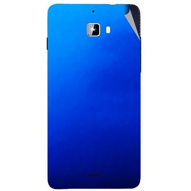 Snooky 44300 Mobile Skin Sticker For Micromax Canvas Nitro A310 - Blue