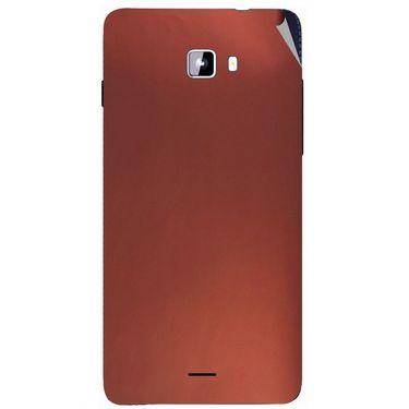Snooky 44315 Mobile Skin Sticker For Micromax Canvas Nitro A311 - Copper