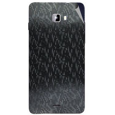 Snooky 44316 Mobile Skin Sticker For Micromax Canvas Nitro A311 - Black