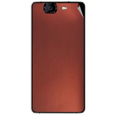 Snooky 44327 Mobile Skin Sticker For Micromax Canvas Knight A350 - Copper