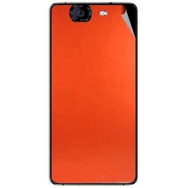 Snooky 44330 Mobile Skin Sticker For Micromax Canvas Knight A350 - Orange