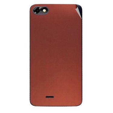 Snooky 44363 Mobile Skin Sticker For Micromax Micromax Bolt D321 - Copper