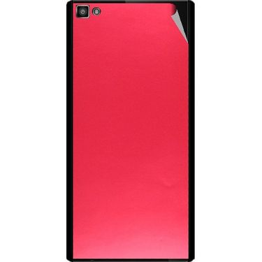 Snooky 44386 Mobile Skin Sticker For Xolo Hive 8X 1000 - Red