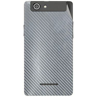 Snooky 44430 Mobile Skin Sticker For Xolo A500s - silver