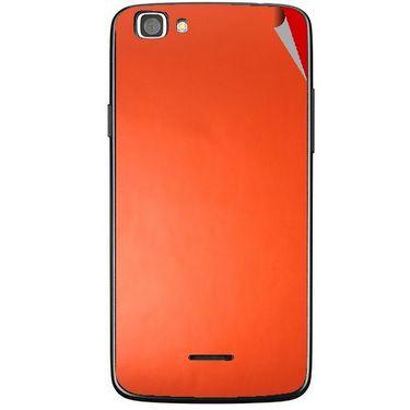 Snooky 44438 Mobile Skin Sticker For Xolo A500s Lite - Orange