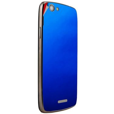 Snooky 44444 Mobile Skin Sticker For Xolo A510S - Blue