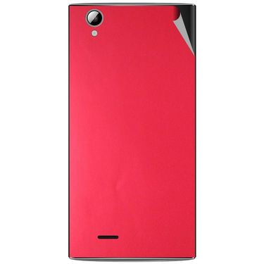 Snooky 44470 Mobile Skin Sticker For Xolo A600 - Red