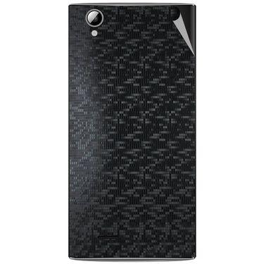 Snooky 44472 Mobile Skin Sticker For Xolo A600 - Black